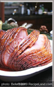 Pineapple Brown Sugar Glazed Ham