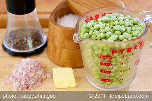 Easy Pea Puree