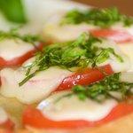 Buffallo Mozzarella Tomato Basil Appetizers