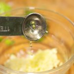 Add 2 teaspoons of rice wine vinegar.