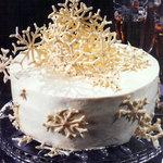 Lemon Snowflake Cake
