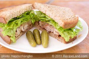 Grilled Pork Tenderloin and Onion Marmalade Sandwich