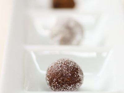Vanilla Wafer Walnut Rum Balls