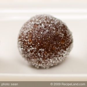 No-Bake Rum-Raisin Balls