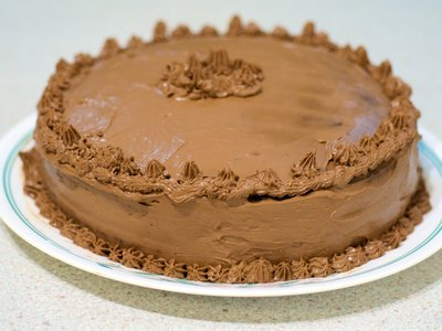 Chocolate Layer Cake No Guilt Low Fat