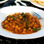 Tasty and Succulent Chickpea, Tomato and Kale Stew