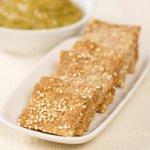 Whole Wheat Sesame Crackers