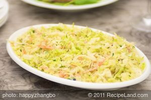 Buttermilk Herbed Coleslaw