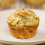 Stephen Lee's Zucchini-Pesto Muffins