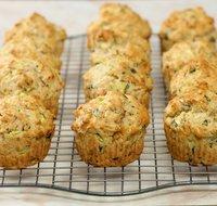 Stephen Lee's Zucchini-Pesto Muffins