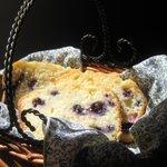Blueberry-Lemon Tea Bread