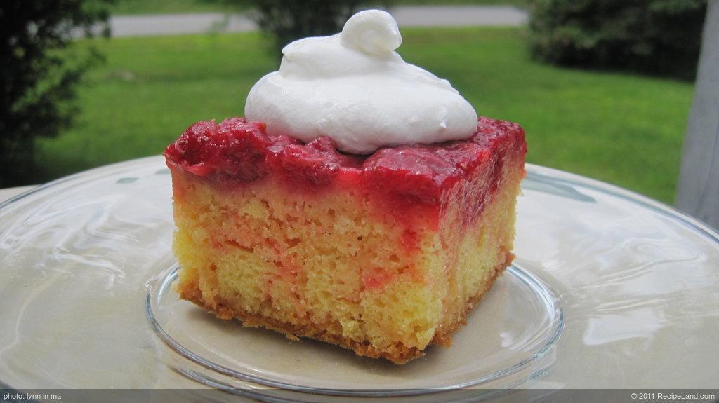 Strawberry Upside Down Shortcake