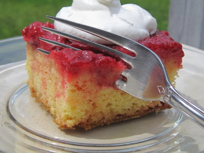 Strawberry Upside Down Shortcake