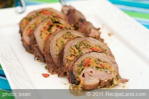 Ultimate Grilled Stuffed Flank Steak