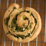 Christmas Herbed Pinwheel Biscuits