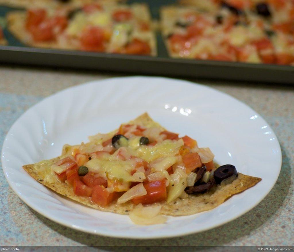 16 Minute Tortilla Pizza