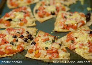 16 Minute Tortilla Pizza