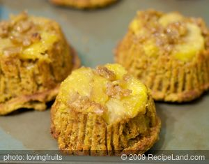 Downside-UP Pineapple  Muffins