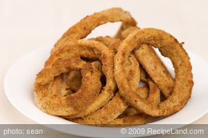 Crispy Oven-Fried Onion Rings