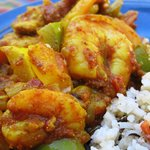 Chicken and Shrimp Vindaloo