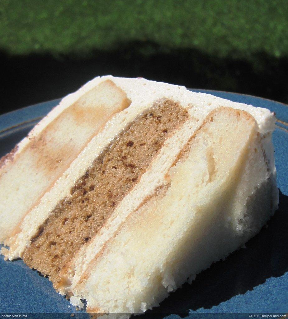 Three Layer Tiramisu Cake