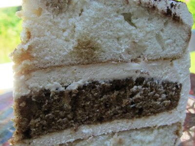 Three Layer Tiramisu Cake