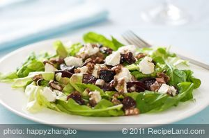 Balsamic-Honey Glazed Beets and Arugula Salad with Goat Cheese