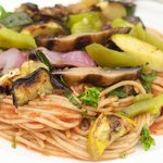 A delicious and easy grilled vegetable pasta!