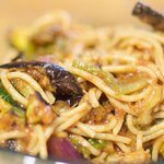 Alternatively mix all the grilled vegetables with pasta and tomato sauce until well mixed.