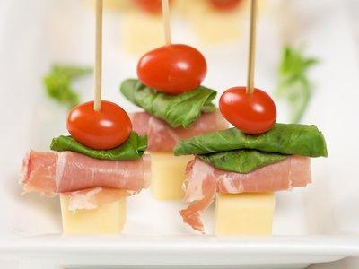 Italian Prosciutto Cheese Sticks