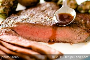 Chipotle Chile-Garlic Grilled Flank Steak