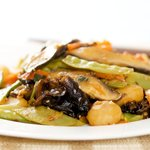 A delicious and crunchy vegetables stir-fry!
