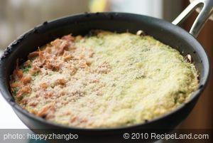 Breakfast Wild Rice and Mushroom Frittata