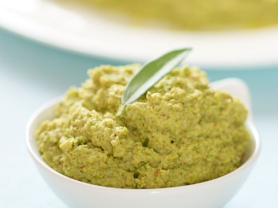 Broccoli Hazelnut Pesto