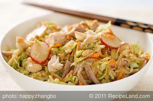 Asian Style Leftover Turkey Salad