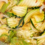This is a fantastic quick zucchini pickle recipe.