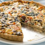 Fresh thyme, oregano and olive oil make this flakey, savory and flavorful crust.