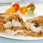 Remove fillets to warm platter and enjoy the juicy and tasty fillets.