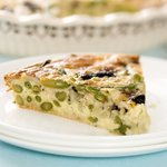 A quick, easy and yummy green bean pie!