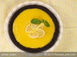 Chocolate Lemon Pie