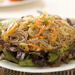 A cool and flavorful soba noodle salad is perfect for a hot summer day!