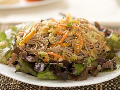 Cool Soba Noodle Salad