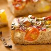 Roasted Pepper, Chili, Cherry Tomato and Mozzarella Focaccia