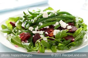 Beetroot, Green Bean and Preserved Lemon Salad