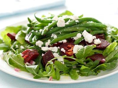 Beetroot, Green Bean and Preserved Lemon Salad