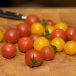 Then work on these beautiful cherry tomatoes.