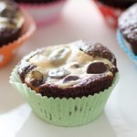 Put the cupcakes into pretty paper muffin cups to serve!