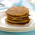 Stack the pancakes onto a serving plate, serve with sour cream or plain yoghurt.