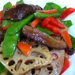 Stir Fried Fresh Lotus Root