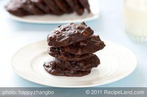Zucchini Brownie Cookies